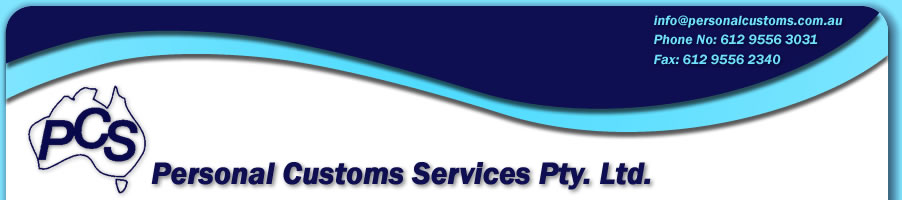 Personal Customs Services